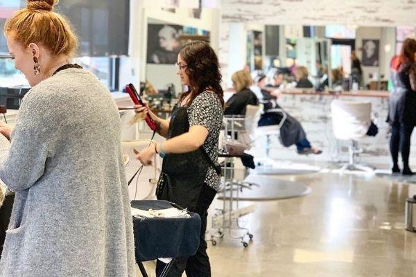 Bangs hair salon Sumner WA